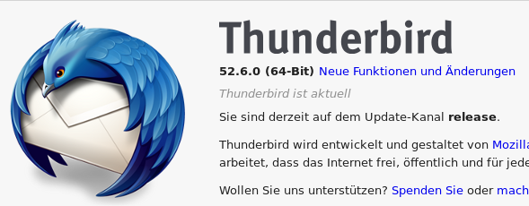 thunderbird error message – server has disconnected The server may have gone down or there may be a network problem