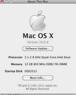 OSX 32Bit more than 4GB of RAM 12 GB of RAM