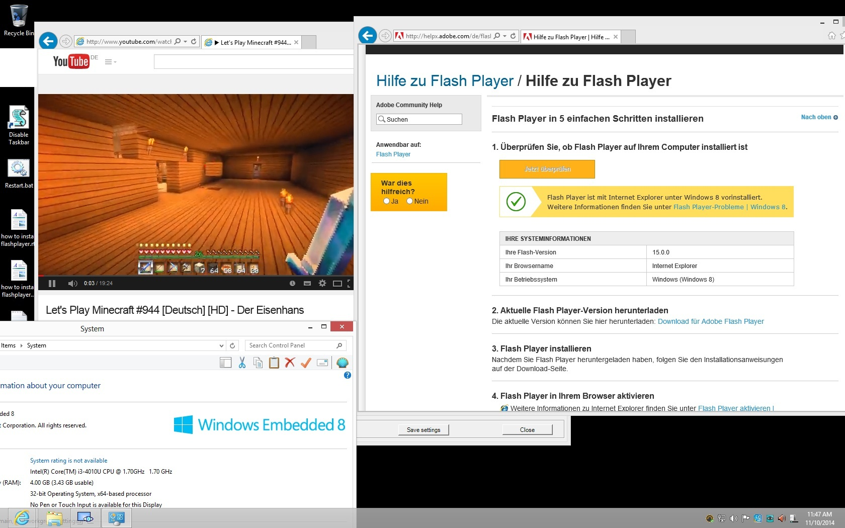 windows-8-embedded-flashplayer-works