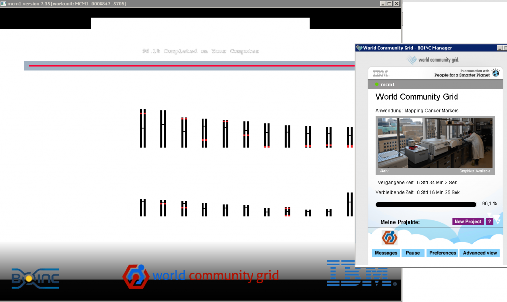 world community grid - donate computing power - map cancer markers project
