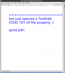 ted opens TXT.rtf