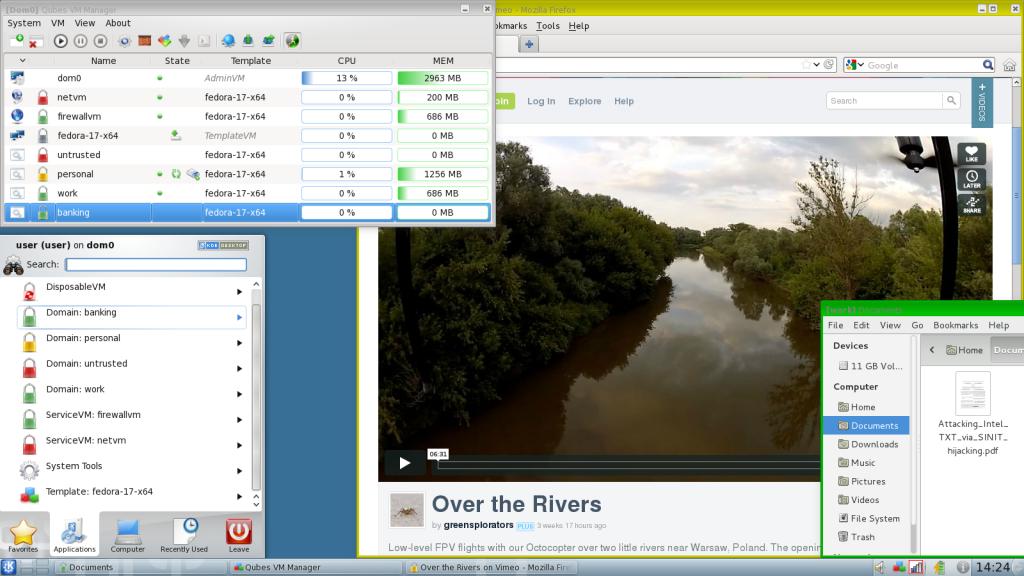 Qubes-OS-Desktop