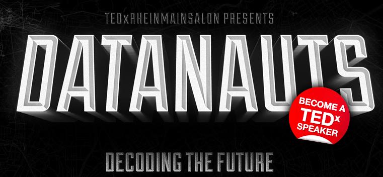 tedX Rhein Main decoding the future datanauts logo