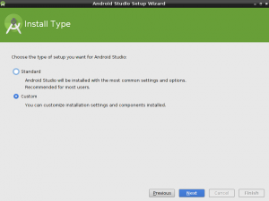 android studio custom settings
