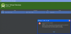 android studio on windows xp virtualbox vm