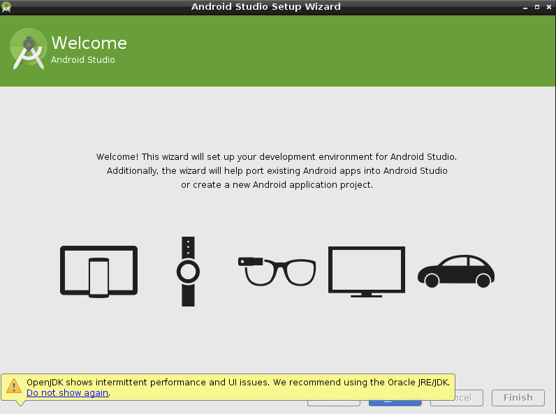 how to run python script in android studio