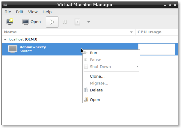 Linux -> KVM libvirt virt-manager and snapshots | dwaves org