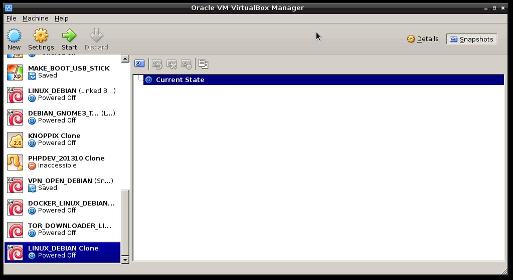 virtualbox clone machine3