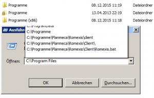 Program Files Programme