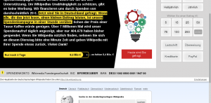 wikipedia donation campaign 2015