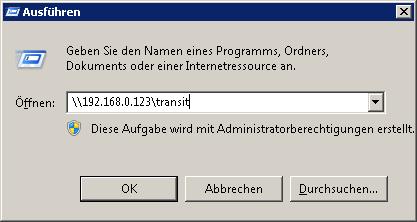 windows access linux share