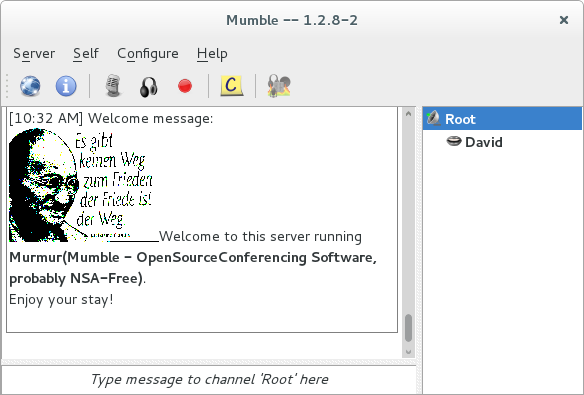 mumble server welcome message picture