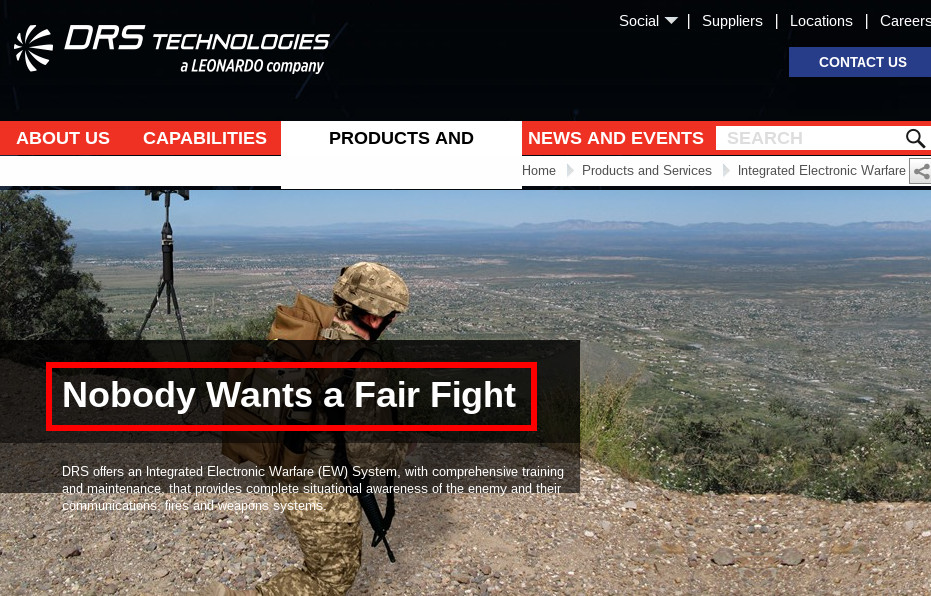 drs-technologies-leonardo-italy-weapons-company-nobody-wants-a-fair-fight