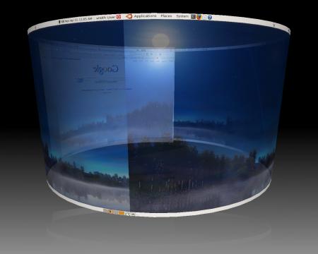KNOPPIX 7.2 vs 7.6 – COMPIZ FUSION 3D DESKTOP – MATE Compiz spin bundles MATE Desktop with Compiz Fusion