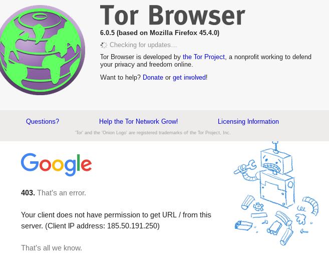 google-dissalows-tor-brwoser