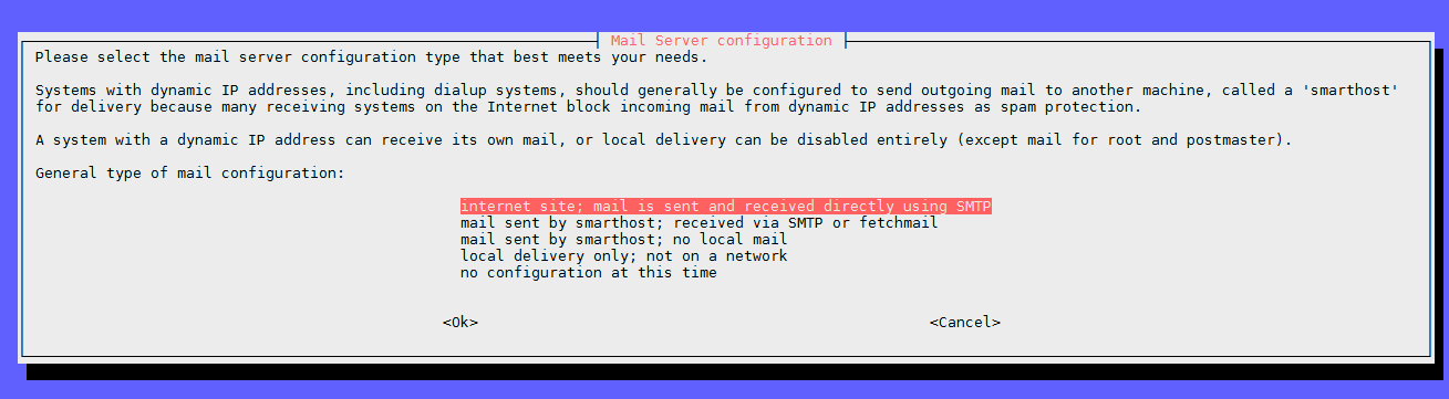 linux debian – bash script send mail from client via external mail