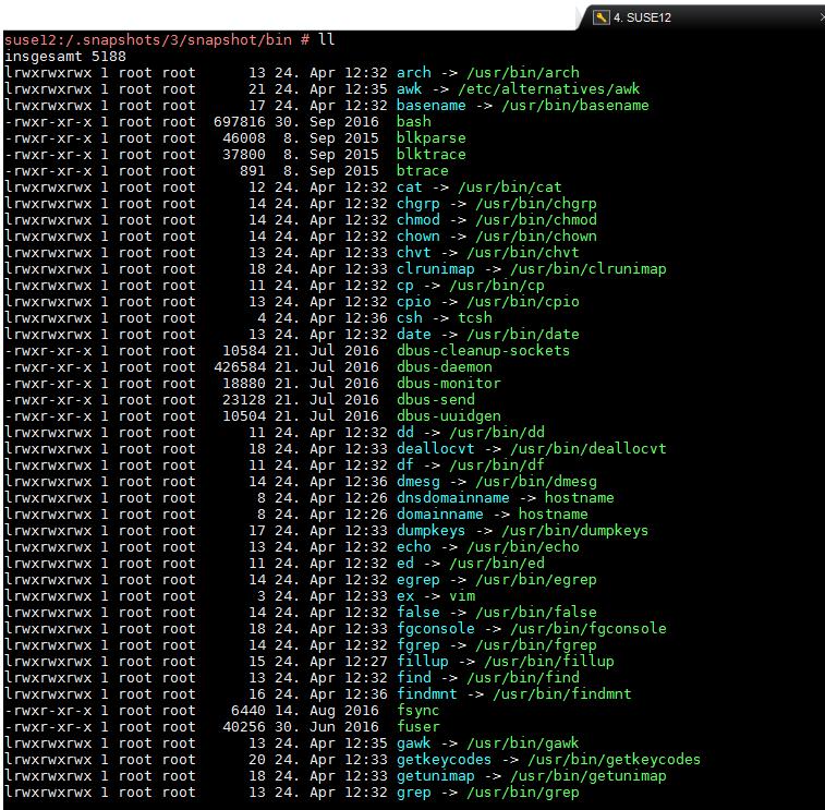 linux backups – snapshots – exports – volume shadow copy – full