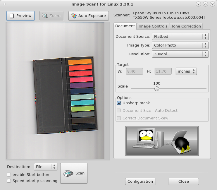 scanning with linux – brother and epson