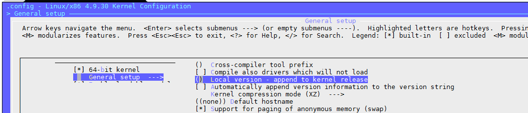 debian – compiling the latest kernel – compile customize