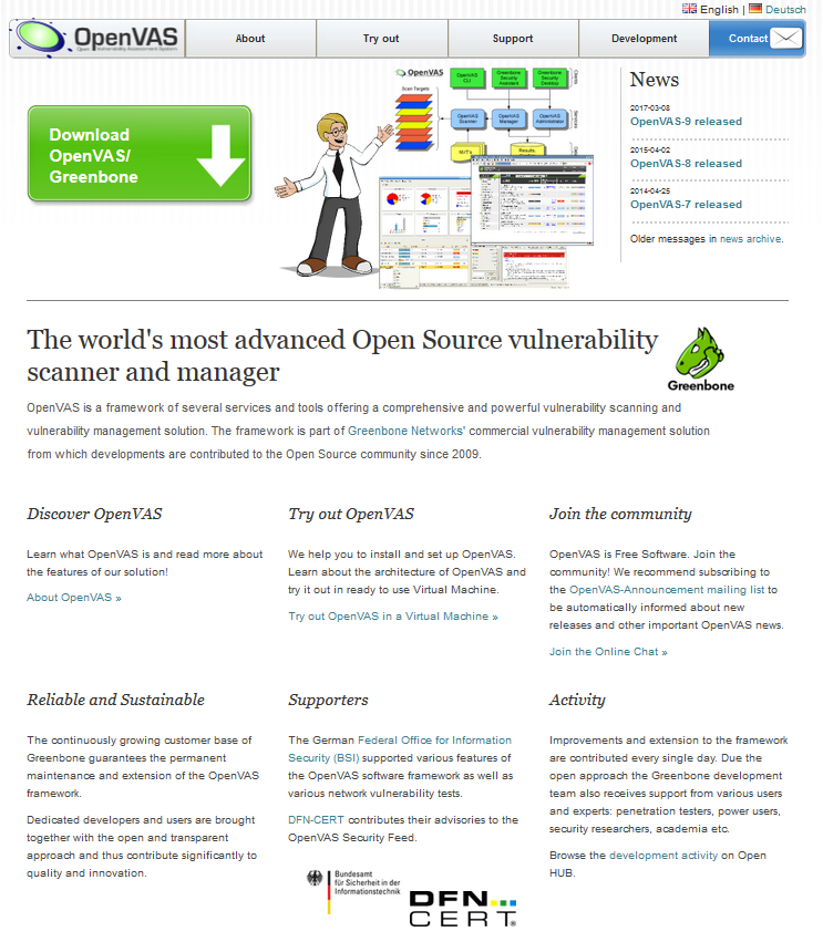 Cyber Network Security – OpenVAS – Open Vulnerability