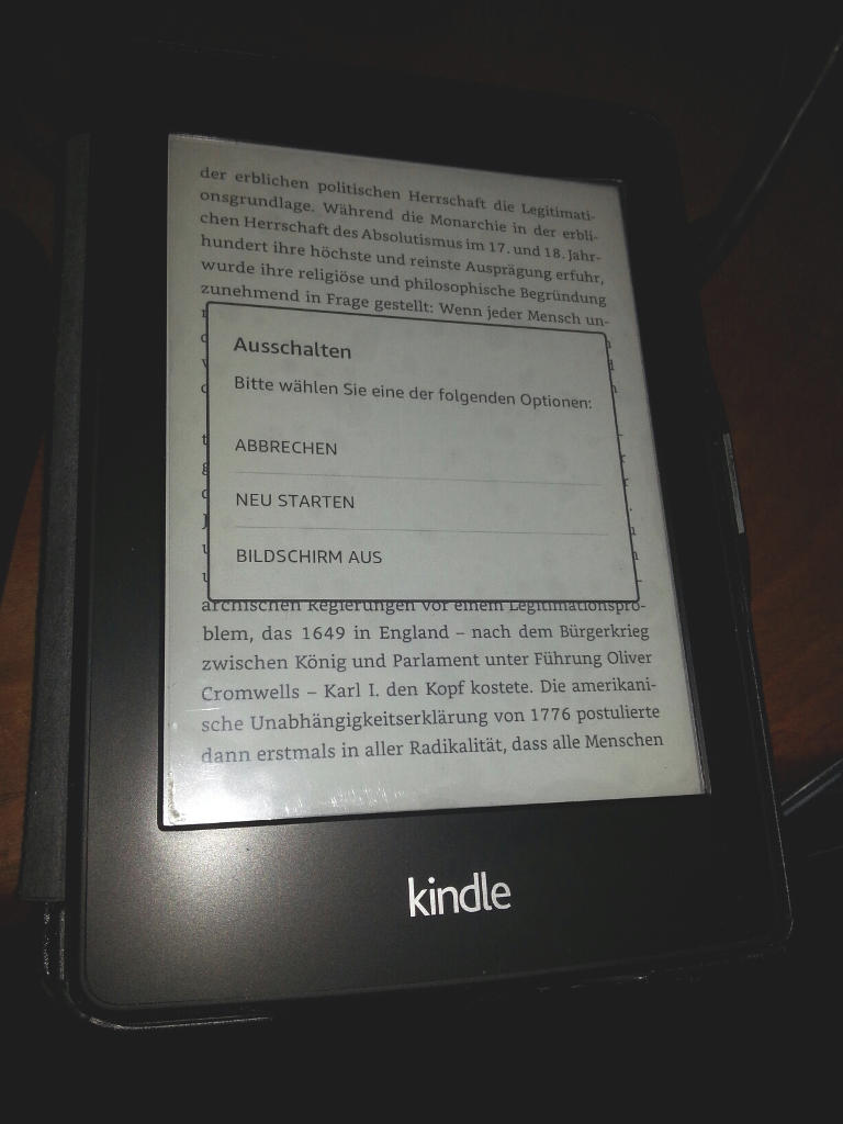 Amazon kindle – great battery and microphone but not possible to switch it off