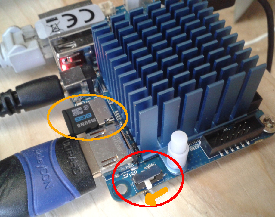 ODROID-XU4 low power high speed embedded 8 core linux computer – lan