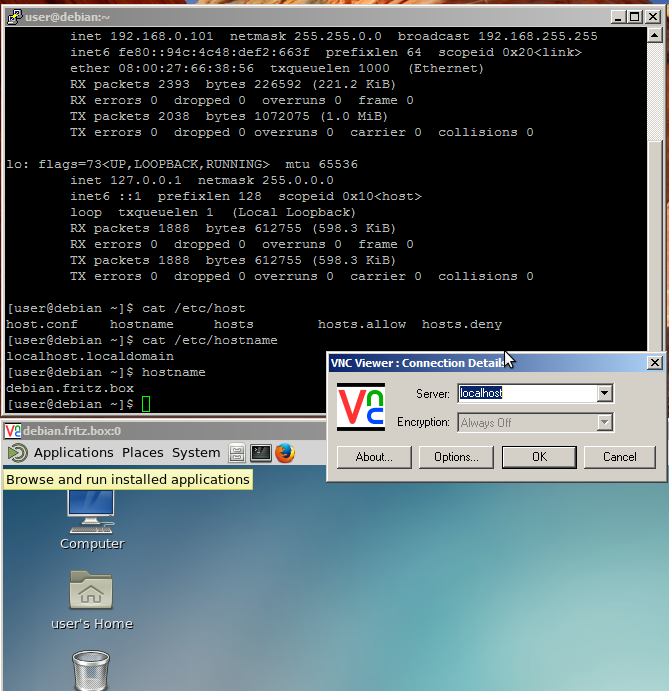 CENTOS7 – vnc server remote desktop setup howto screen sharing in