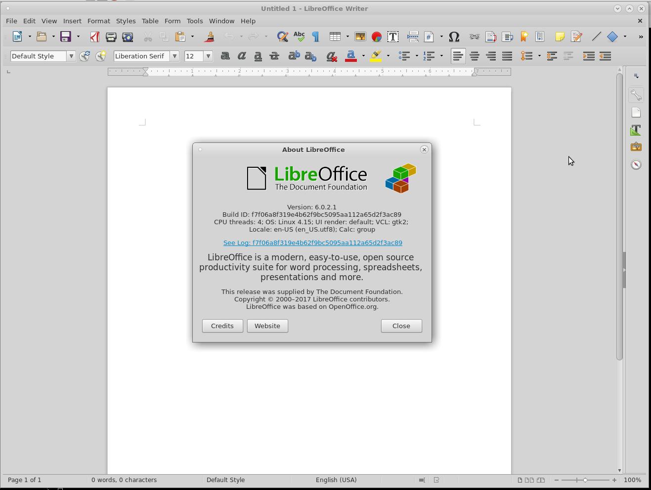 HowTo Update OpenOffice LibreOffice under Linux – deb rpm Debian Ubuntu RedHat Fedora CentOS7