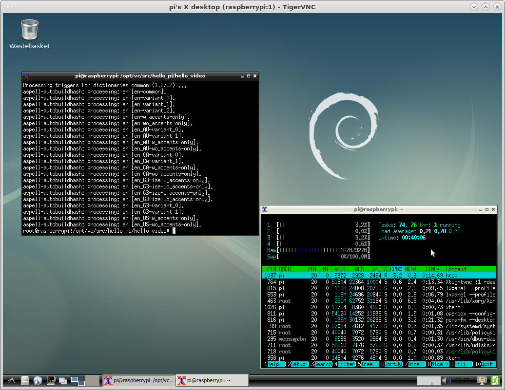 Getting Started with Raspberry Pi 2 Model B v1 1 – vnc setup display