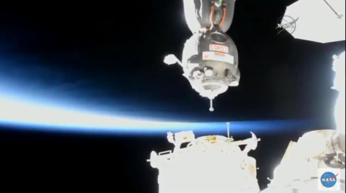 Soyuz Sojus Docking ISS