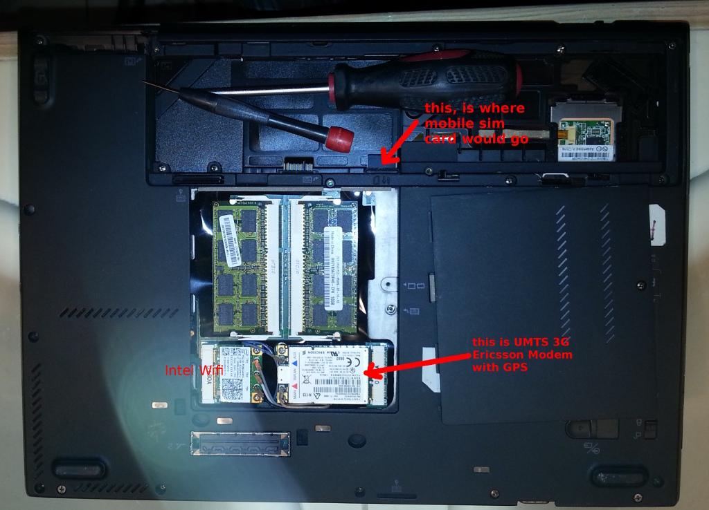Lenovo T400s Review change upgrade harddisk under LibreBoot