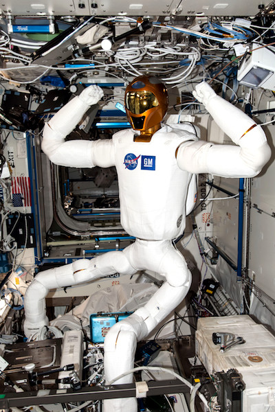 iss 360 images – Robonaut 2 on board and space station live stream