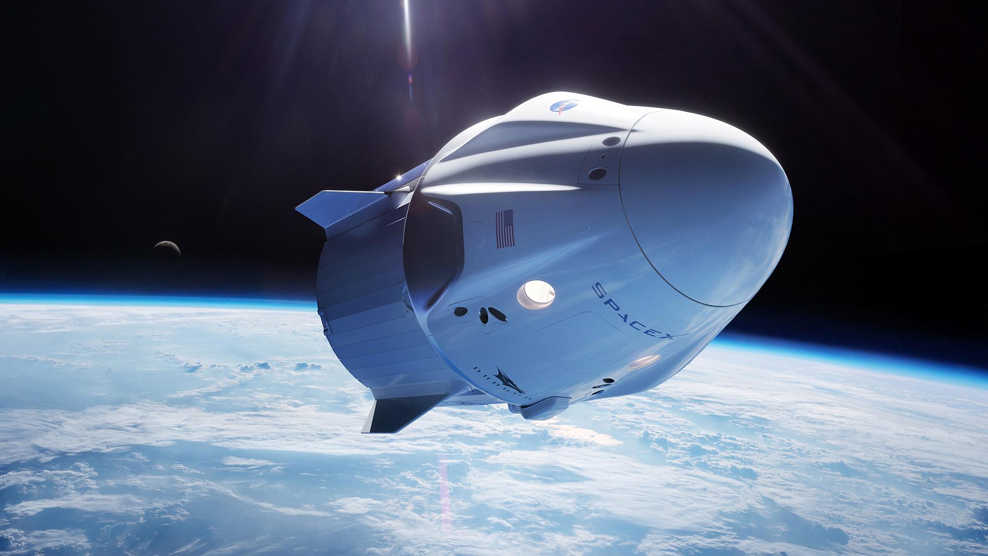 Dragon Docks ISS – SpaceX Zero G Indicator
