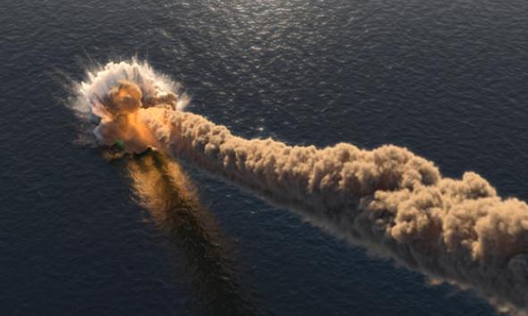 meteor comet caught on tape with sound crashing down over ocean Australia 00:20 ACST (19.05.2019 at 14:50 UT) – secret ocean inside earth