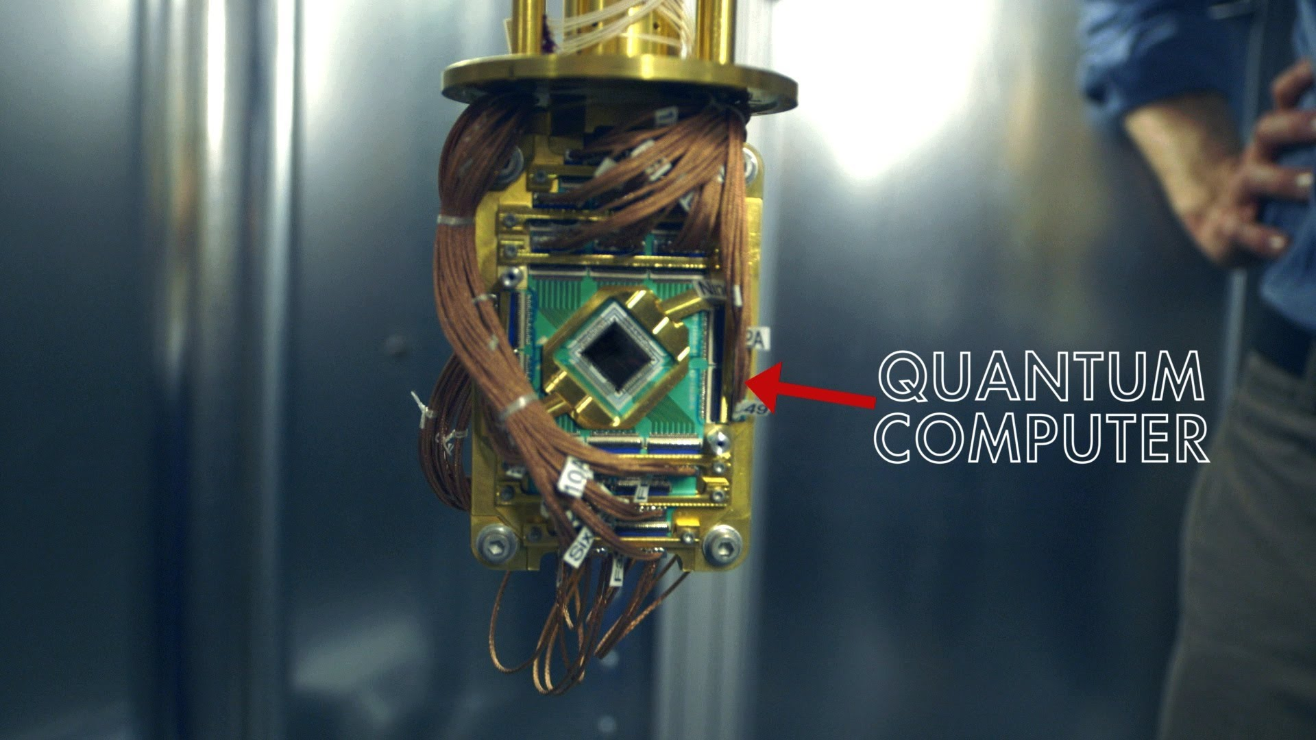 quantum computing and a universe wide wireless communication network faster than the speed of light