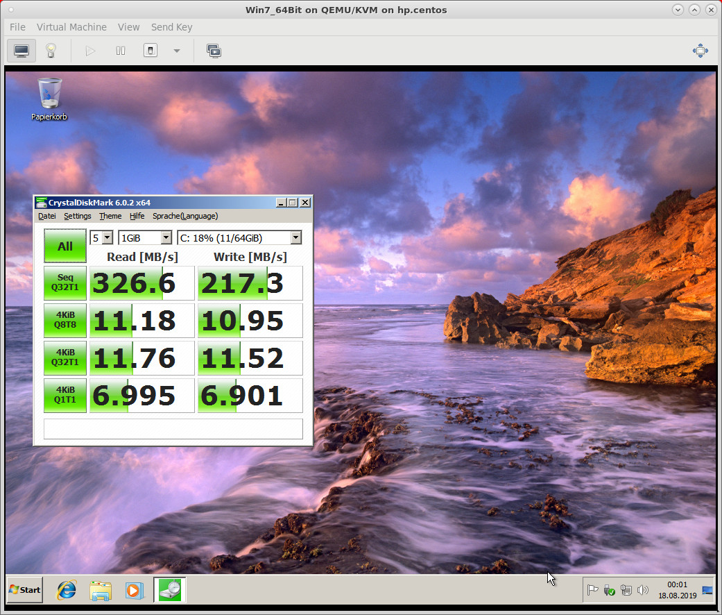 KVM QEmu virt-manager for a test drive on HP ProLiant DL360