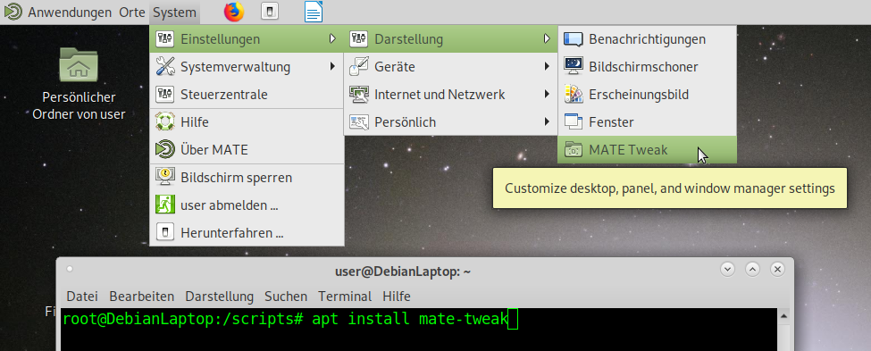 Debian 10 MATE Gnome2 Desktop – Failed to get GBM bo for