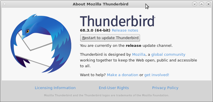 Mail Thunderbird – disable JavaScript