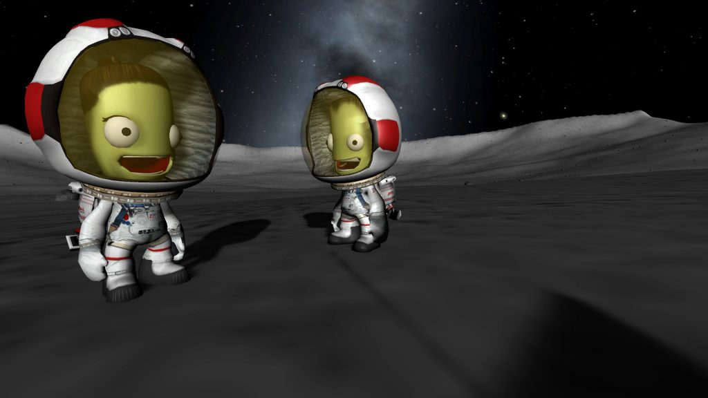 Kerbal Space Flirt - Female Kosmonaut Astronaut