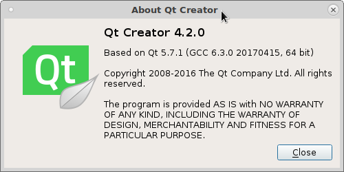 gnu linux debian – install qtcreator and qt5-default – qt c hello world – qtcreator no valid kits found